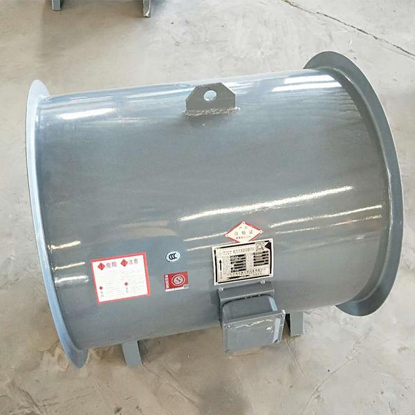 消防排烟风机轴流式结构选用耐高温电机。